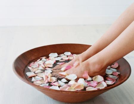 Schoonheidssalon hand en voet verzorging