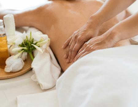 Schoonheidssalon massage