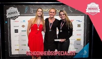 Skills Heroes finalisten schoonheidsspecialisten